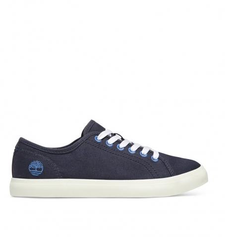 Chaussures Femme Timberland Newport Bay Oxford - Bleu marine coton