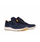 Chaussures Junior Timberland Flyroam Leather Fabric Oxford - Bleu marine