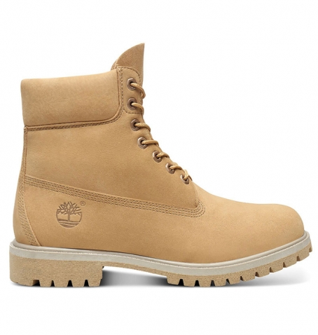 Boots Homme Timberland 6-inch Premium Boot - Beige nubuck