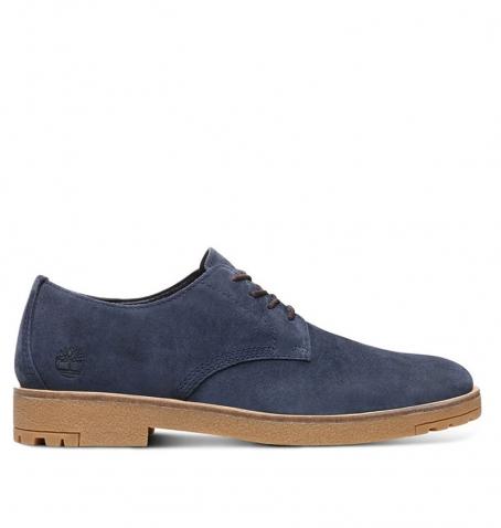 Chaussures de ville Homme Timberland Folk Gentleman Oxford - Bleu Suède