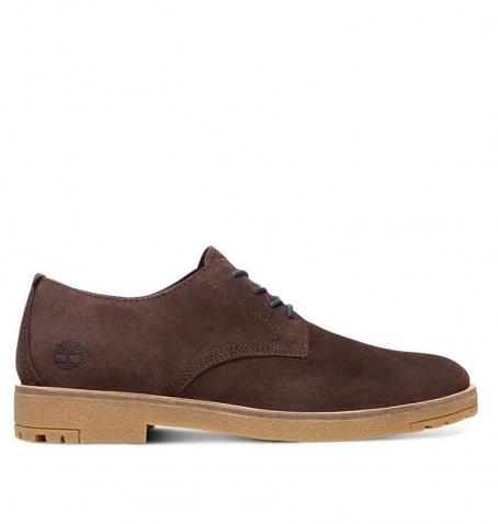 e5d951f8053c39 Chaussures de ville Homme Timberland Folk Gentleman Oxford - Marron Suède