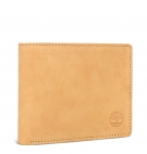 Portefeuille Homme Timberland Stratham LG Billfold With Coin Pocket - Wheat