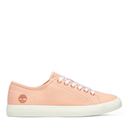 Chaussures Femme Timberland Newport Bay Oxford - Pêche canvas