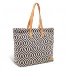 Sac à main Femme Timberland Shopping Bag - Beige et noir