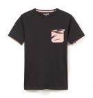 T-shirt Homme Timberland SS Kennebec River Printed Pocket - Coupe Slim