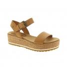 Sandales Femme Timberland Santorini Sun Ankle Strap - Marron pleine fleur