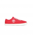 Chaussures Enfant Timberland Newport Bay Canvas Oxford - Rouge