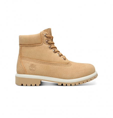 Boots Junior Timberland 6-inch Premium WP Boot - Beige nubuck