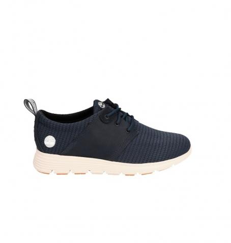 Chaussures Enfant Timberland Killington Leather and Fabric Oxford - Bleu marine