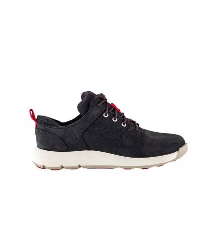 Chaussures Enfant Timberland Flyroam Leather and Fabric Oxford - Noir