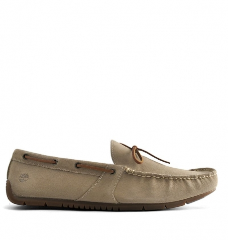 Chaussures Homme Timberland Lemans Gent River Moc Boat - Beige