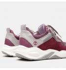 Chaussures Femme Timberland Delphiville Leather Sneaker - Violet foncé