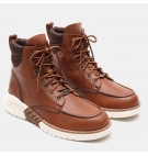 Boots Homme Timberland MTCR Moc Toe Boot - Marron cuir pleine fleur