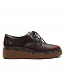 Chaussures de Ville Femme Timberland Bluebell Lane Derby - Noir et rouge