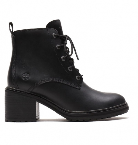 Bottines à talons Timberland Sienna High Lace-Up Boot - Noir pleine fleur