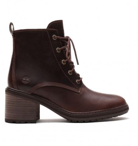 Bottines à talons Femme Timberland Sienna High Lace-Up Boot - Marron