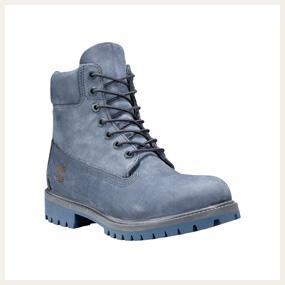7a5cd4f8183 Boots Timberland Horween - red brown Boots Timberland 6-inch monochrome -  nubuck bleu ...