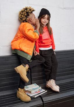 Des boots timberland pour les enfants