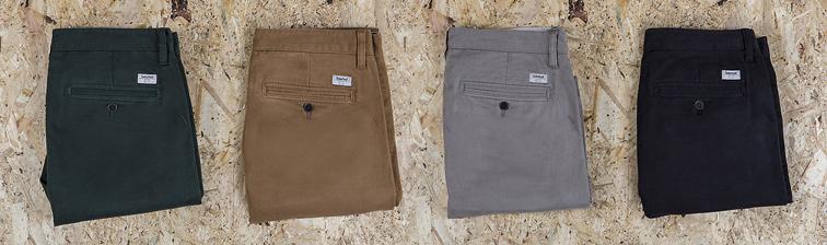 pantalons chinos timberland