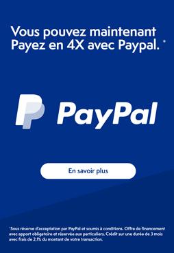 Payez vos achats en 4 fois et faites-vous plaisir avec Paypal